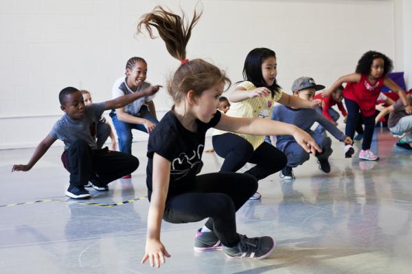 Workshop Kidsdance  Mechelen.