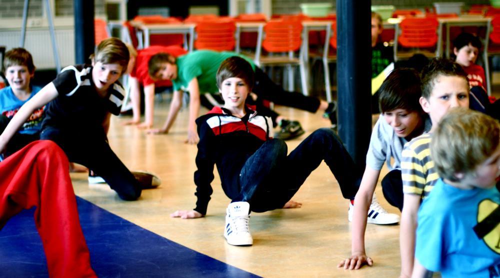 Slide 3: Workshop Breakdance